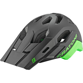 Cratoni C-Maniac 2.0 Trail Helm, black/neon green matte